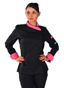 veste-de-cuisine-femme-noire