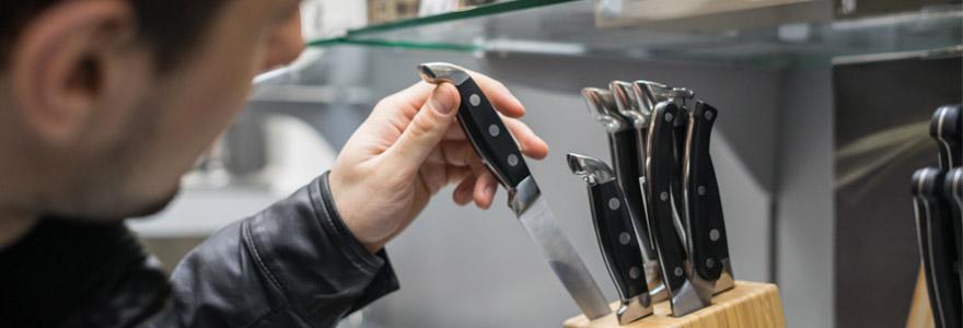 trouver des couteaux de cuisine